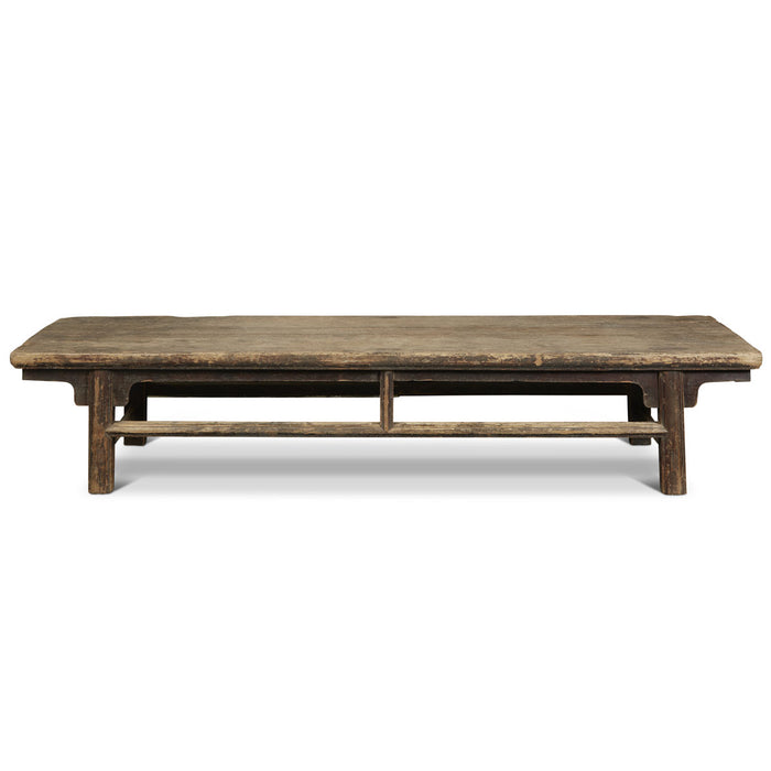 Low Elm Wood Chinese Antique Table