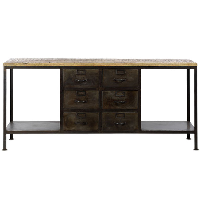 Mansu Iron and Mango Wood Sideboard