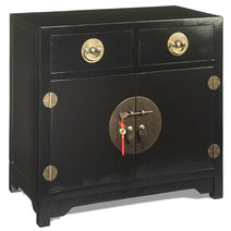 Mid Size Cabinet, Black Lacquer