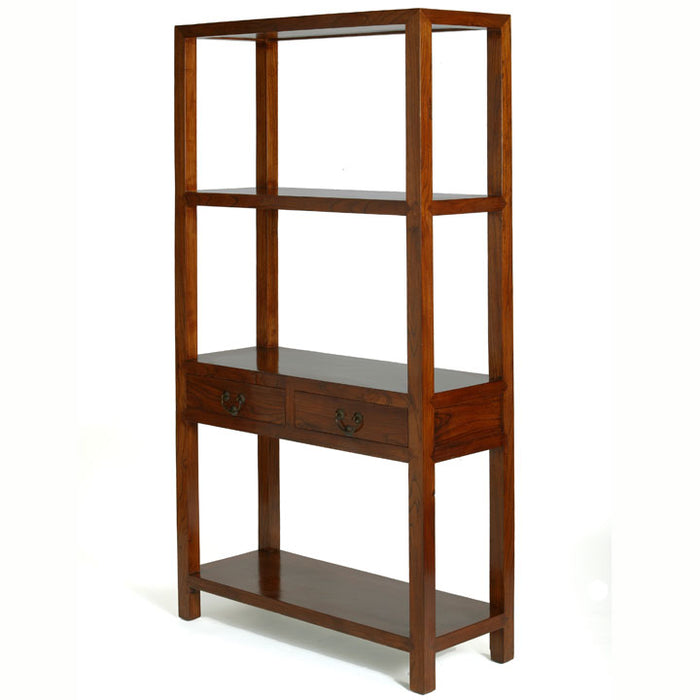 Ming Bookshelf, Warm Elm