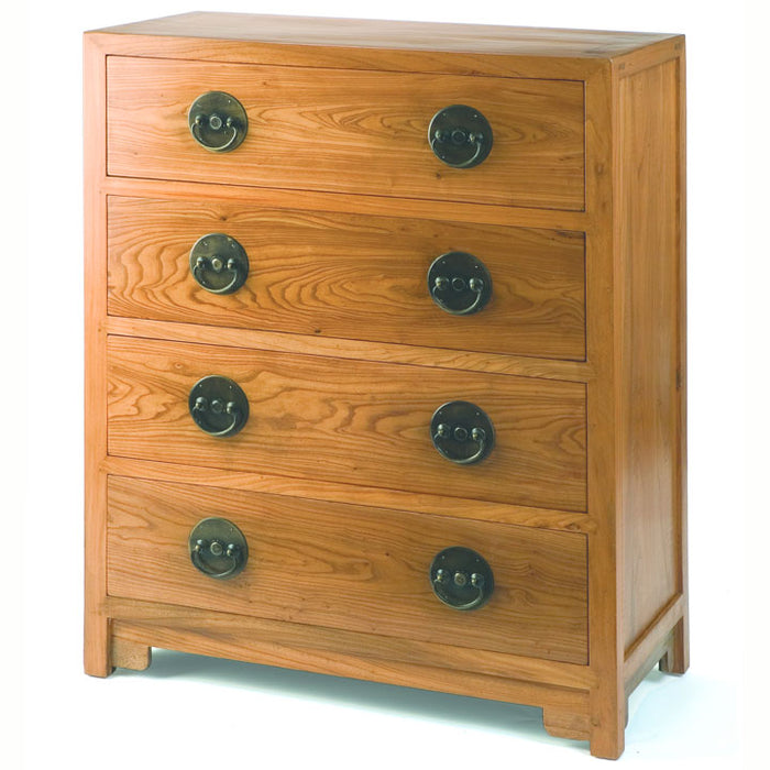 Ming Chest of Drawers, Light Elm