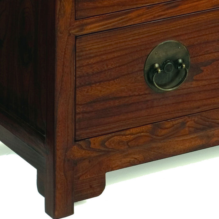 Ming Chest of Drawers, Warm Elm