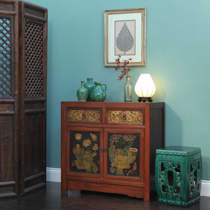 Mongolian Style Mid Sized Cabinet