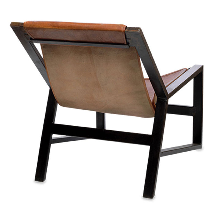 Narwana Plain Leather Lounger