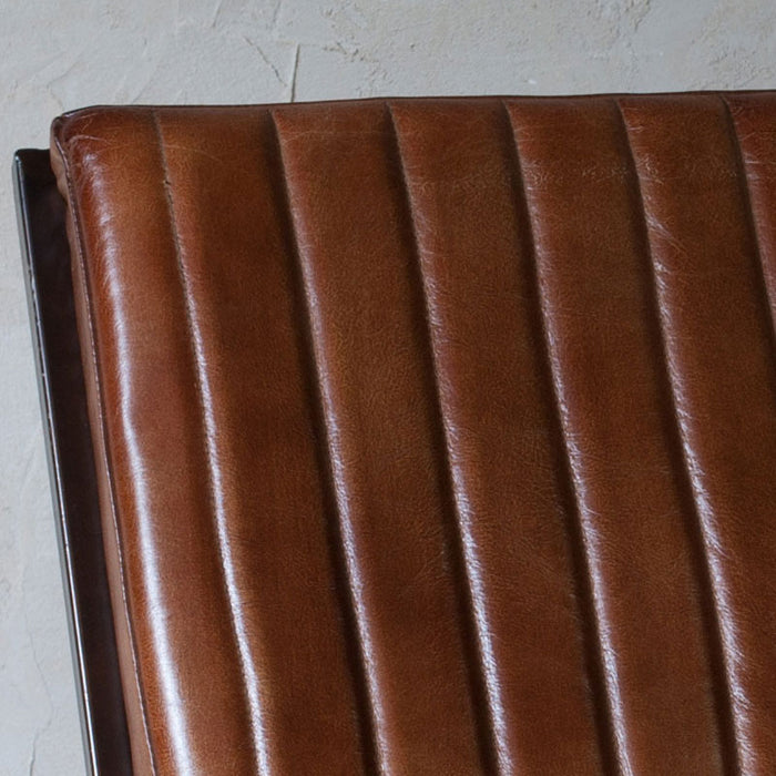 Narwana Ribbed Leather Lounger