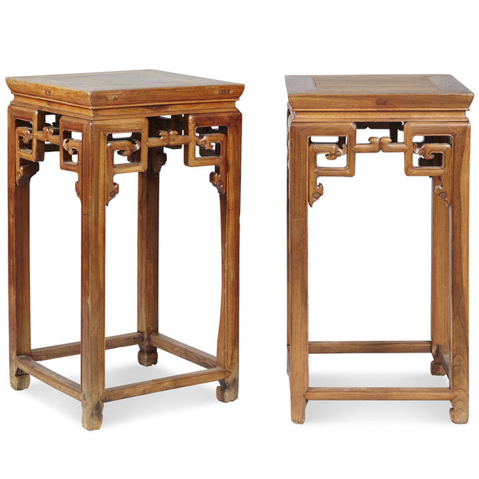 Pair of Chinese Antique Flower Stands