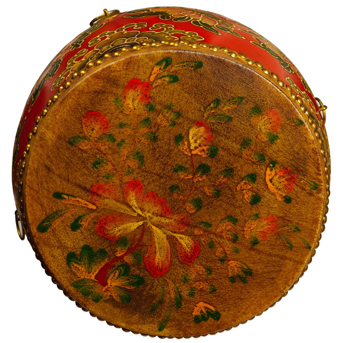 Chinese Temple Drum Table