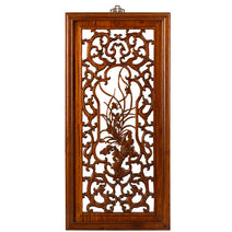 Carved Panel - 'Purity', Warm Elm