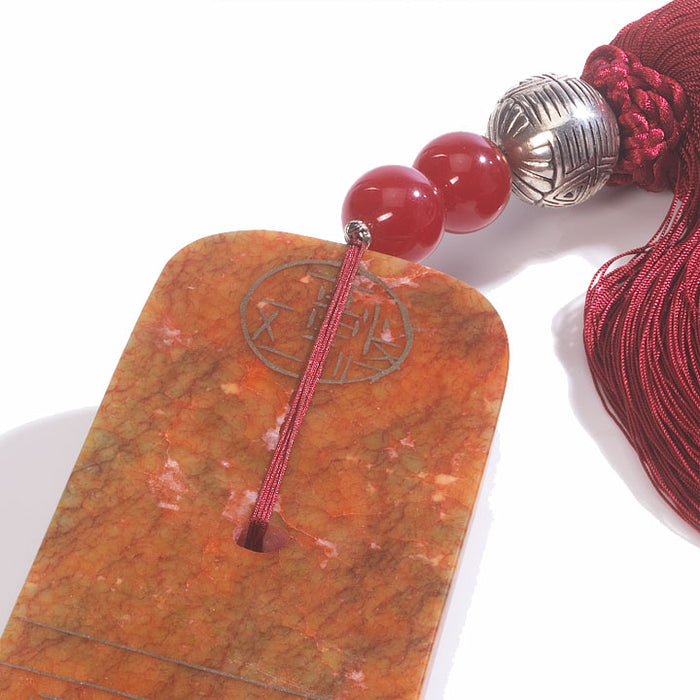 Silk and Stone Tassel, Paperweight