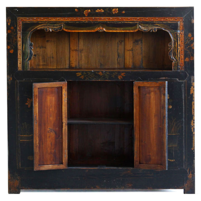 Qinghai Display Cabinet with Paintings