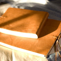 Rustic Leather Photo Album