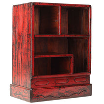 Red Lacquer Display Shelves