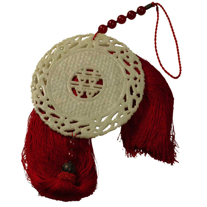 Large Chinese Tassel, Red