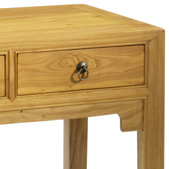 Scholar's Desk, Light Elm