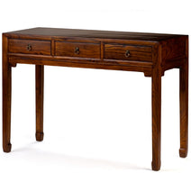Scholar's Desk, Warm Elm