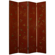 Shanxi Butterfly Screen, Red Lacquer