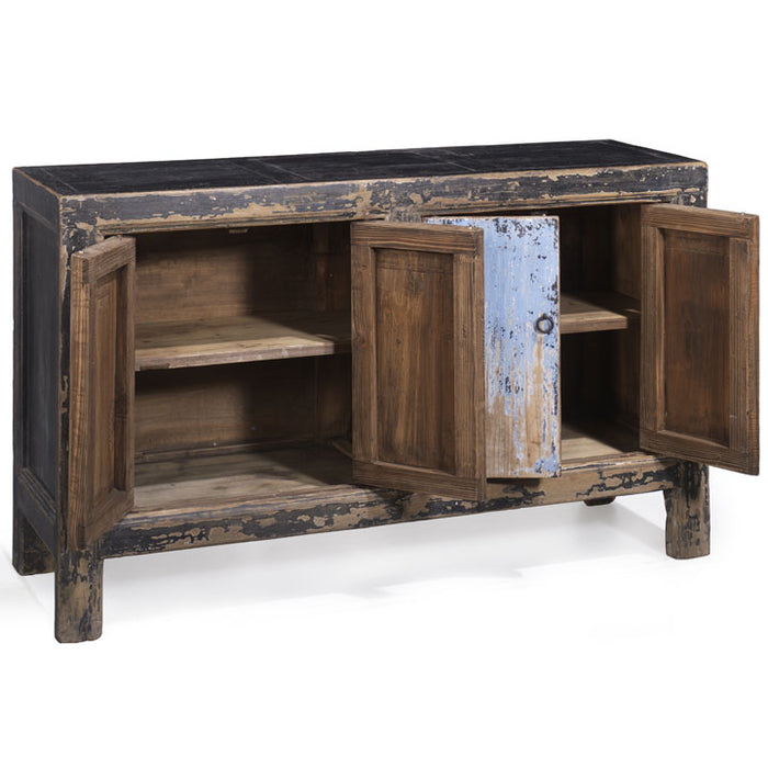 Sideboard, Blue and Black