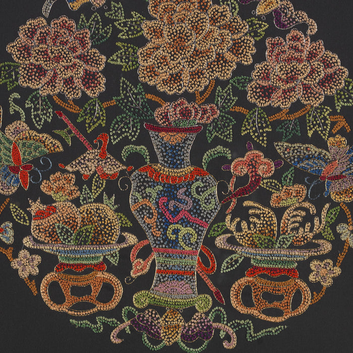 Silk Embroidery - 'Vase'
