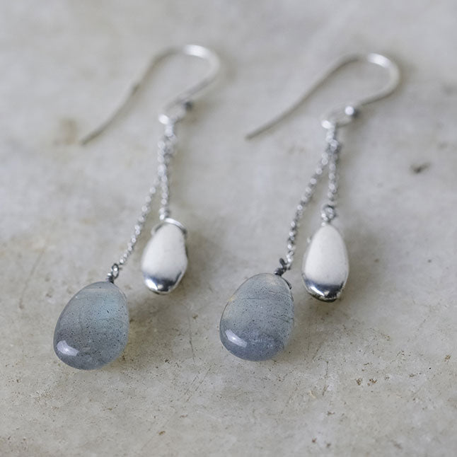 Keebu Labradorite Earrings