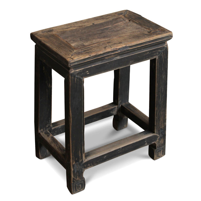 Chinese Antique Elm Stool
