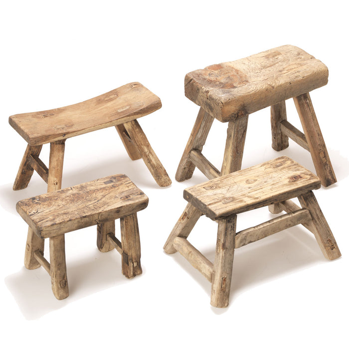 Small Wooden Chinese Stool