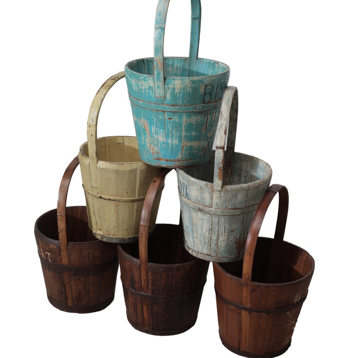Small Wooden Bucket