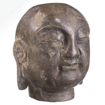 Small Carved Stone Buddha Head