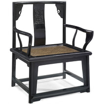 Southern Official's Chair, Black Lacquer