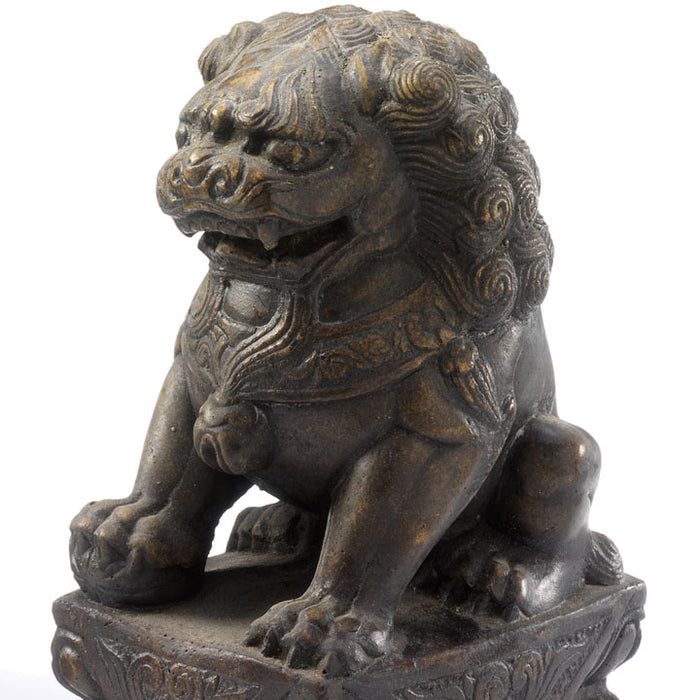 Chinese Stone Temple Lion