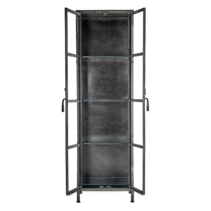Tiko Iron & Glass Cabinet
