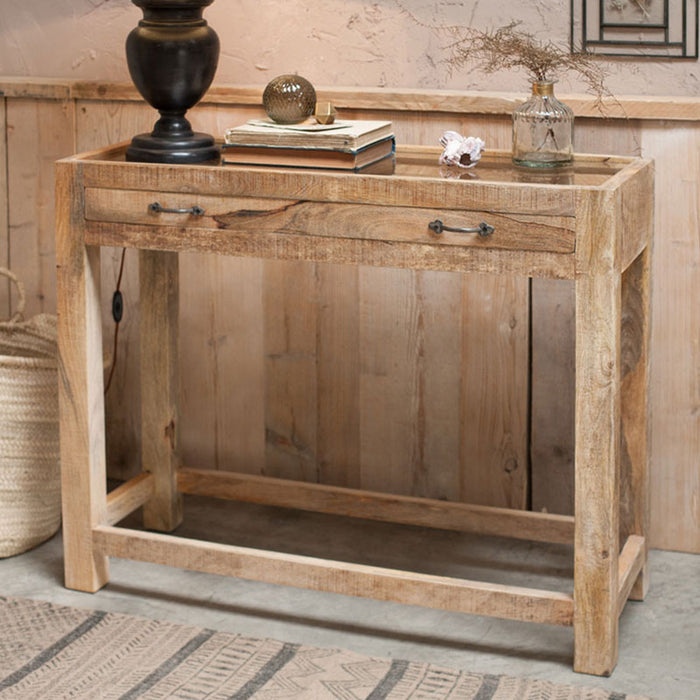 Tansa Printer Drawer Console Table