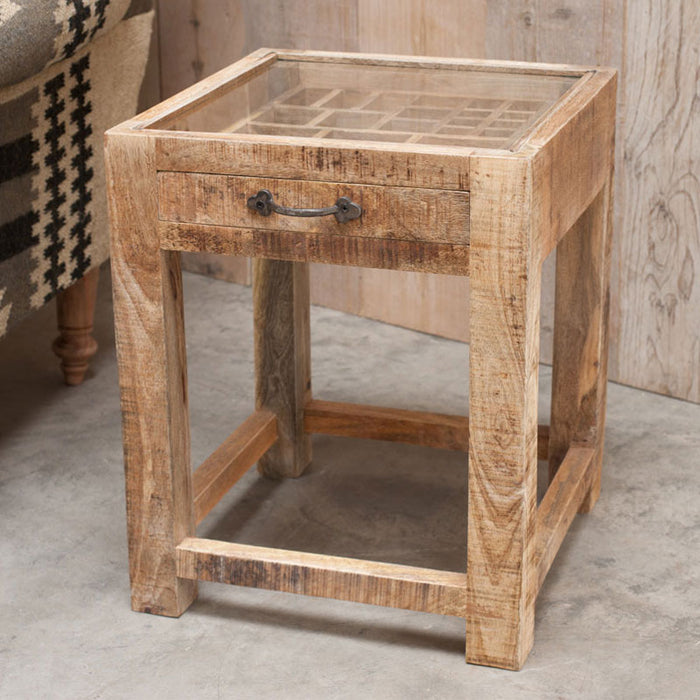 Tansa Printer Drawer Side Table