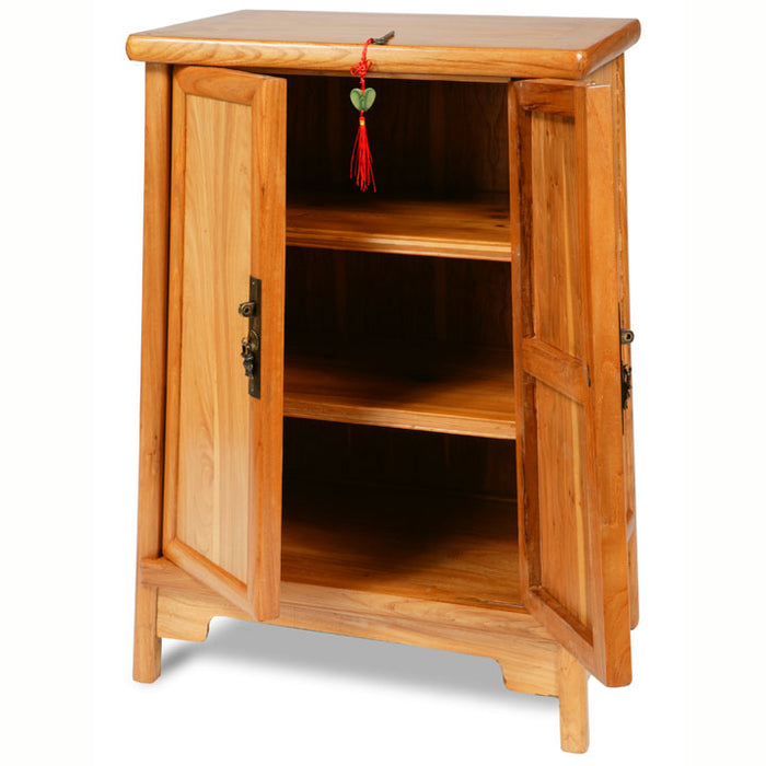 Tapered Cabinet, Light Elm