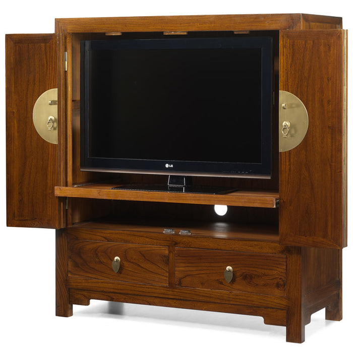 Television Cabinet, Warm Elm