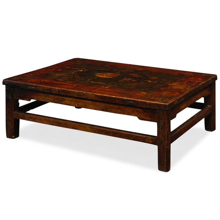 Antique Tibetan Low Painted Table