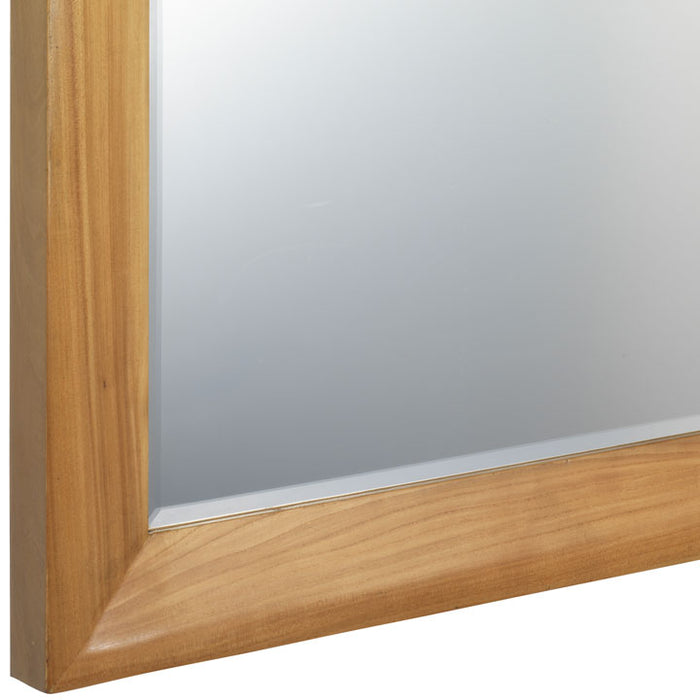 Wall Mirror, Light Elm