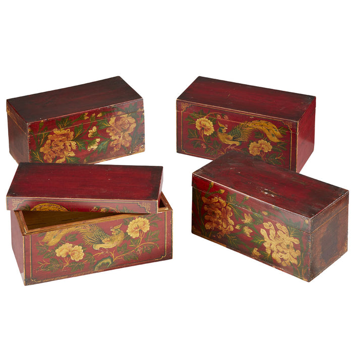 Painted Lacquer Wedding Box