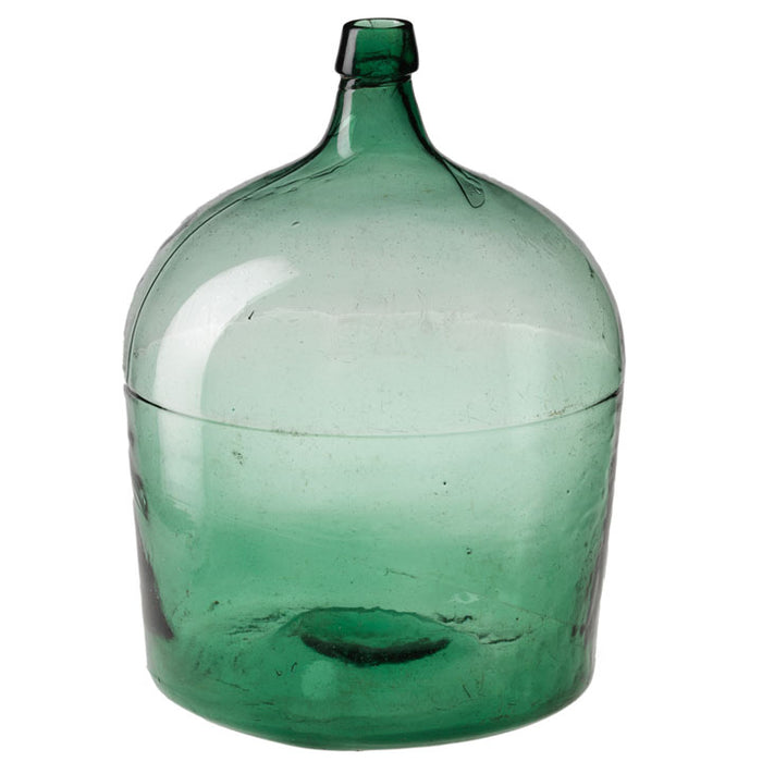 Vintage Green Wine Bottle