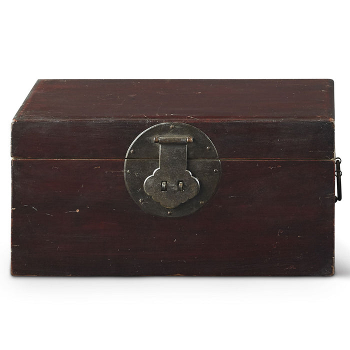 Chinese Antique Wooden Camphor Box