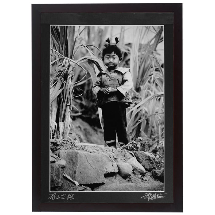 Framed Print - 'Young Mountain Girl'