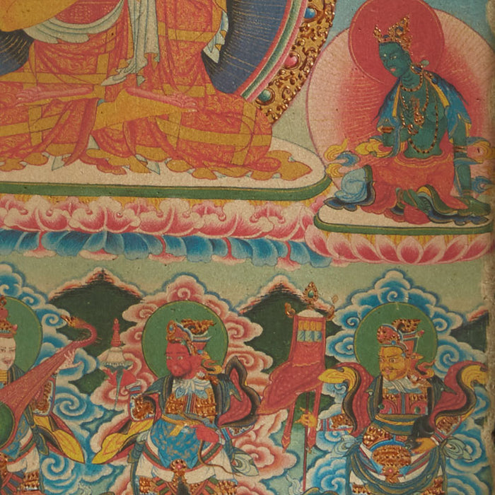 Fresco with Chinese Deities