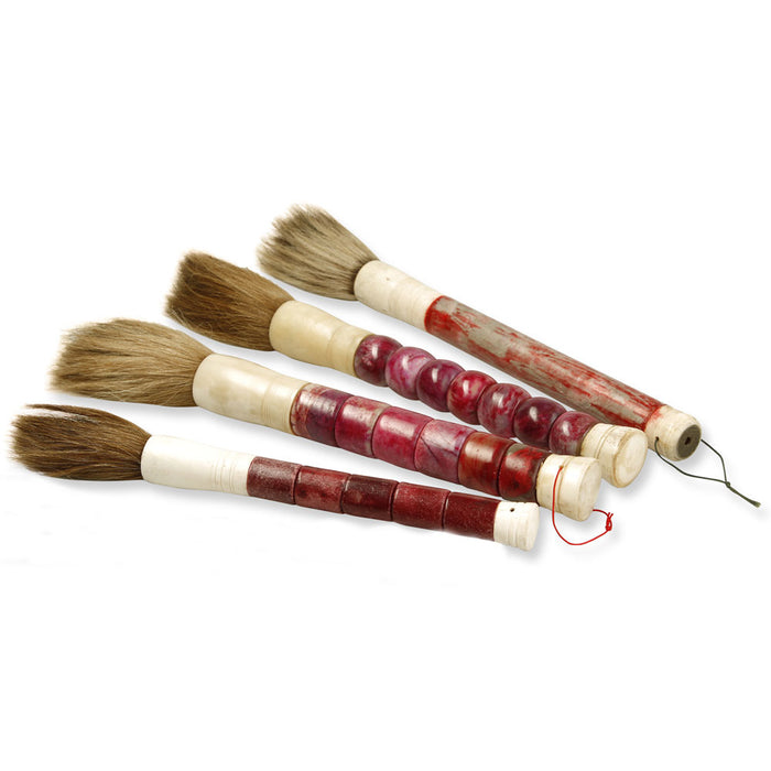 Chinese Calligraphy Brush, Large Red