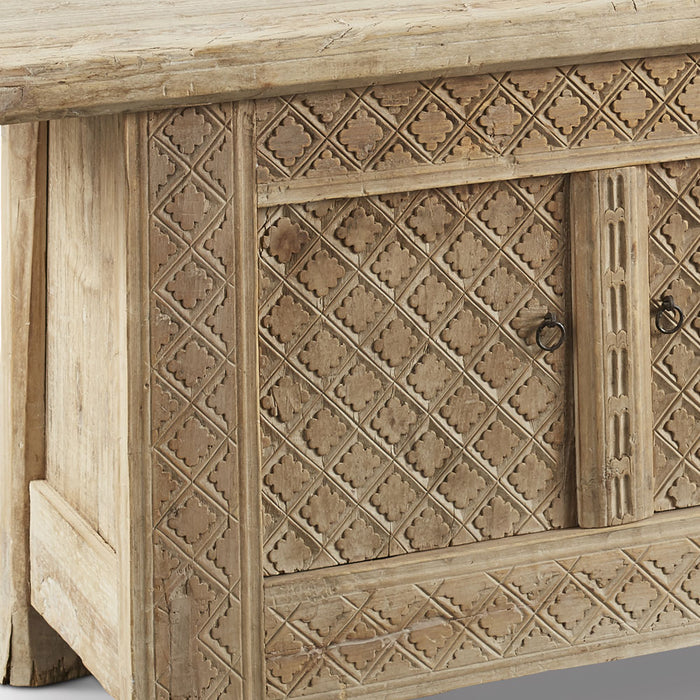 Carved Xinjiang Sideboard