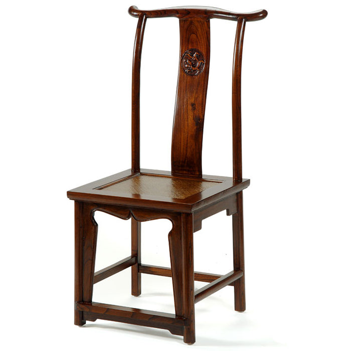 Yoke-Back Side Chair, Warm Elm