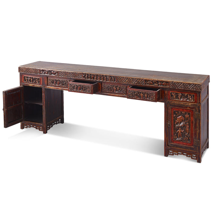 Yunnan Large Carved Console