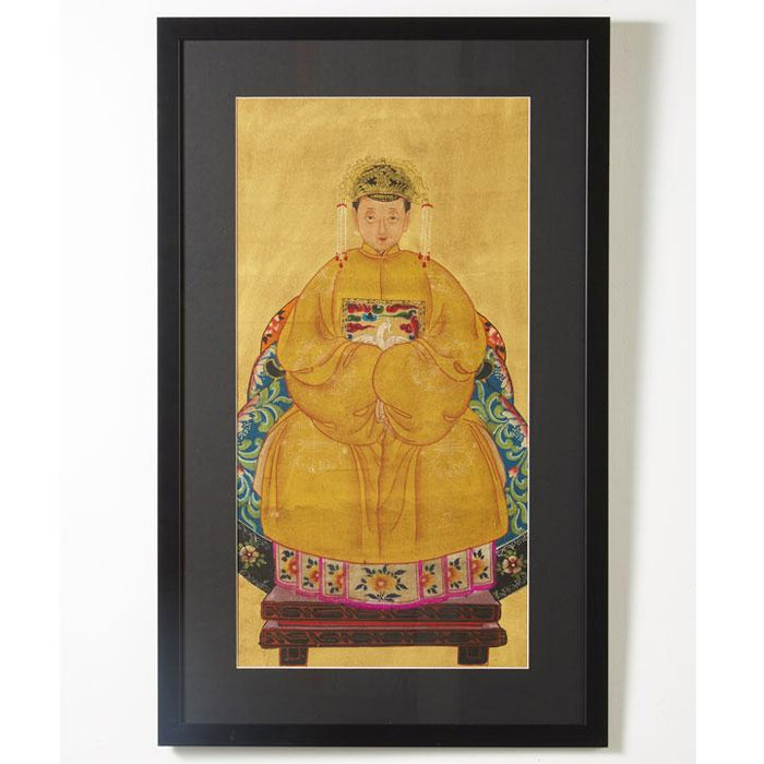 Ancestor Painting, Grandmother in Yellow