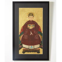 Ancestor Painting, Grandmother Official in Red