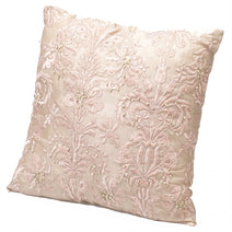 Beaded Cushion, Pink