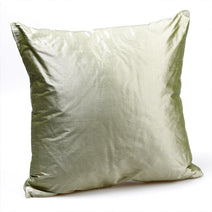 Silk Cushion, Moss Green