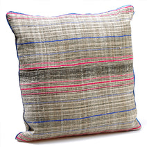 Miao Large Striped Cushion